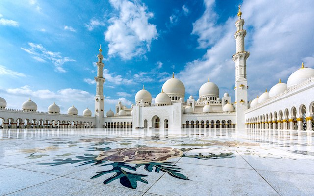 大清真寺 Sheikh Zayed Mosque