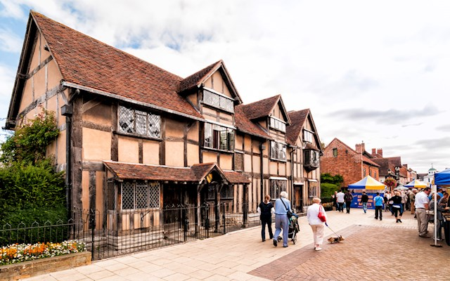 莎翁故居 Shakespear's Birthplace