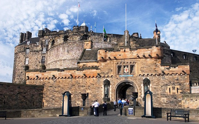 愛丁堡古堡 Edinburgh Castle