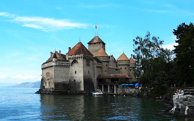 西墉古堡 Chillon Castle